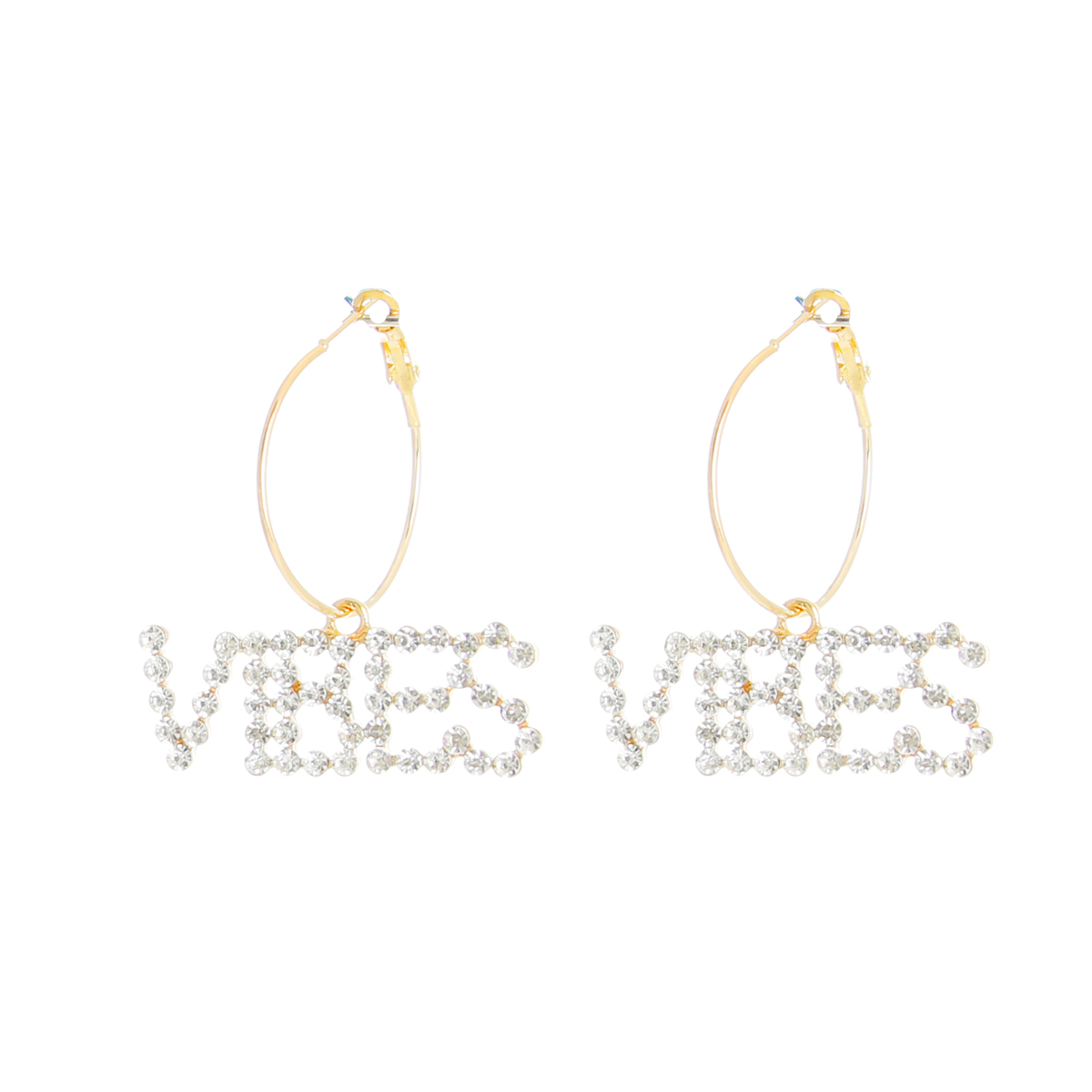 J2261_Vibes_word_Earrings_gold